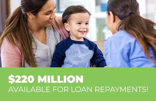 $220 Million available for loan repayments!